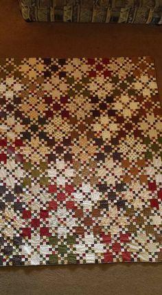 Painters Palette from Laundry Basket Quilts Fall Quilts, Scrappy Quilts, Mini Quilts, Scrap Quilt Patterns, Applique Quilts, Irish Chain Quilt, Laundry Basket Quilts, Nine Patch Quilt, Civil War Quilts