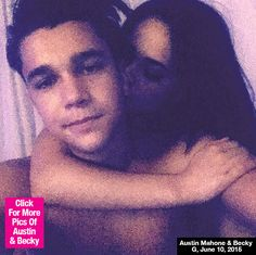 becky g and austin mahone shirtless pic | PIC] Austin Mahone & Becky G Shirtless Photo — Steamy PDA On ...