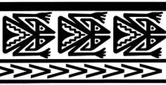 Resultado de imagen para guardas precolombinas para imprimir
