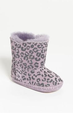 UGG® Australia 'Cassie' Leopard Print Boot (Baby & Walker) available at @Nordstrom #pinparty