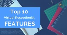 Top 10 Virtual Receptionist Features and Services - via and our marketing director, Debra Carpenter Virtual Receptionist, Carpenter, Business Tips, Marketing, How To Plan, Top, Crop Shirt, Shirts