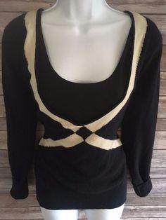 PRINGLE OF SCOTLAND Women's Sweater Size Medium 100% Cashmere Scoop Neck Casual #Pringle #ScoopNeck #ebay