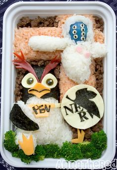 Bento #51: PenPen and Lilith from Neon Genesis Evangelion