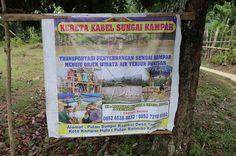 Kereta Kabel Sungai Kampar | RIAU DAILY PHOTO