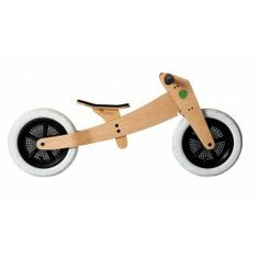 The Wishbone Original Balance Bike 3-in-1 can be used as early as 12 months with three wheels, as a balance bike for kids ages 2-3 then flip it to fit kiddos ages 4-5.