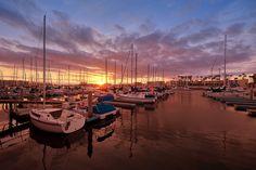 Marina Del Rey   (Photo courtesy of Shawn S. Park, Flickr) — with Alex Haldiman and Jeff Barnett.    Los Angeles, US  #LA <3