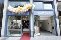 Store Front in unserem neuen Store in der Königsstrasse in Düsseldorf.