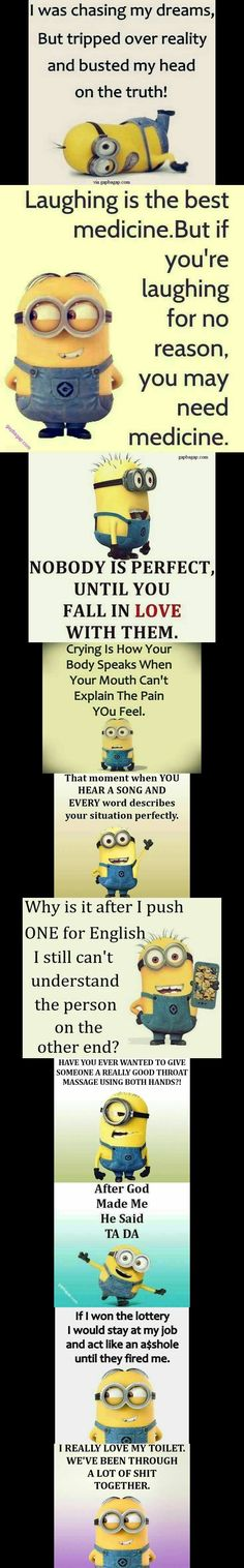 Top 10 #Funny #Minion #Quotes