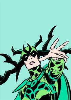 Marvel Hela, Norse Goddess, Thor, Nerd, Joker, Movie Posters, Fictional Characters, Film Poster, Otaku