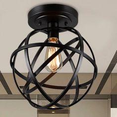 Warehouse of Tiffany 1 Light Globe Pendant