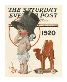 J.C. Leyendecker The Saturday Evening Post - BABY 1920
