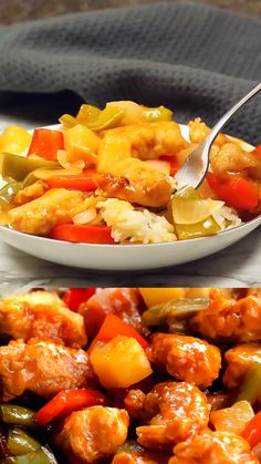 Sweet and Sour Pork Sweet and Sour Pork is one of those recipes thats very easy to make and yields fantastic results. Pork Recipes, Lunch Recipes, Easy Dinner Recipes, Asian Recipes, Cooking Recipes, Healthy Recipes, Sweet And Sour Pork Chops, Sweet N Sour Sauce Recipe, Sweet And Sour Pineapple Chicken Recipe