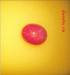 Đá ruby sao DRS003, đá ruby sao tự nhiên