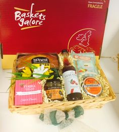 A cute little gift tray of some best selling goodies to make someones day