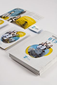 Création de l'identité visuelle du BTS Sévigné Saint-Louis à Issoire. Conception des Plaquettes de présentation, de Taxe d'apprentissage, papéterie et pochette. Réalisation d'un reportage photo, et portrait des étudiants