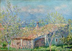 Gardener's House at Antibes by @claude_monet #impressionism