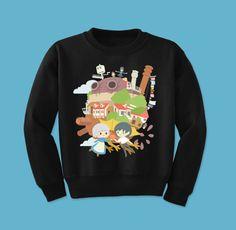 Howl's Moving Castle Crew Neck Sweatshirt