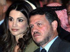 Королева Рания и король Абдалла (Иордания)