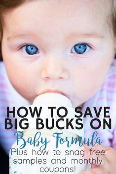 Baby formula can come with a pretty hefty price tag each month, especially is your baby needs specialty formula. Luckily, there are a ton of ways to save a ton of money each month to bring down the cost. From free samples to coupons and rewards programs, Baby Formula Cans, Baby On A Budget, Preparing For Baby, Tips & Tricks, Babies First Year, Baby Hacks, Baby Tips, Baby Needs, Baby Play