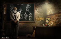 Pinocchio by ksilas on DeviantArt