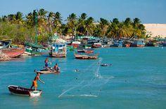 Mundaú-é considerada um dos principais destinos de refúgio do Ceará.   Fica a 150 quilômetros de Fortaleza.