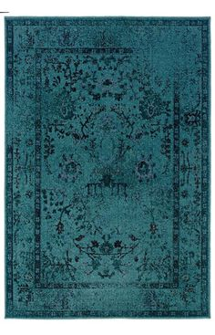 Revival is a unique collection of machine-made rugs which offer easy-care and affordability in one of today's hottest trends. The fashionable over-dyed look is replicated here in washed shades of various colors with beautiful, vintage Persian styling.