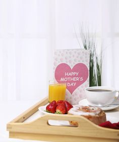 9 Rules for a Foolproof Mother's Day Breakfast in Bed. Mother's Day breakfast in bed tray. Give Mom the pampering she deserves minus the mess.