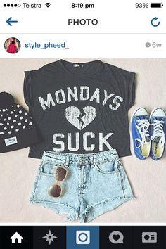 Monday  suck