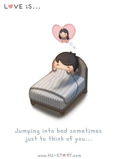 HJ-Story :: Jump into bed - image 1 Loved & pinned by http://www.shivohamyoga.nl/ #loveis #hjstory #love