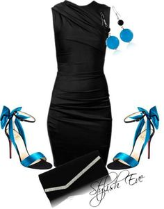 Azul y negro mega like