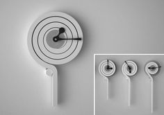 "Popatrz na mój projekt w @Behance: ""Project of hanging clock"" https://www.behance.net/gallery/58050123/Project-of-hanging-clock"
