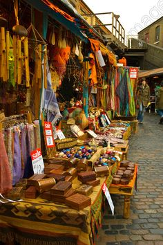 Image of Camden Lock market in Camden Town London England UK | Peter Forsberg