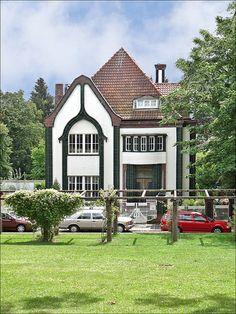 La maison de Peter Behrens (Mathildenhöhe, Darmstadt)
