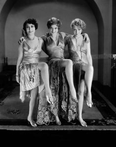 Dorothy Sebastian, Joan Crawford and Anita Page for Our Dancing Daughters (1928)