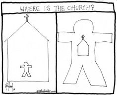 """where is the church?"" (http://www.nakedpastor.com/2012/11/21/where-is-the-church/)"