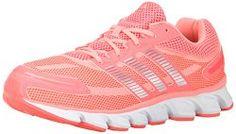 awesome adidas Women's Powerblaze W Running Shoe, Flash Red/Silver/Metallic/Light  Flash Red, 7 M US