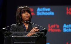 Michelle Obama Talks 'Let's Move' In Chicago