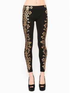 #Baroque Richness #Leggings
