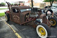 Rat Rod Truck/Wrecker