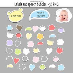 Digital Labels  Baby labels Clip Art  Label by ValerianeDigital  https://www.etsy.com/listing/107518978/digital-labels-baby-labels-clip-art?ref=shop_home_active_13