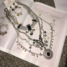 Beautiful Boho Necklace w/ Earrings Brand New - this is a beautiful boho necklace with matching earrings - fashion jewelry - no precious metal or stones - very chic and will definitely stand out Alle Jewelry Necklaces