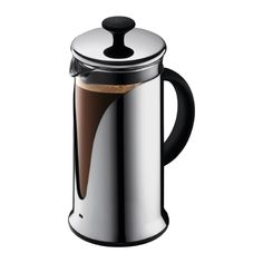 Bodum Costa Rica 8 Cup French Press Coffee Maker / Plunger Stainless Steel  http://www.tfe.co.nz/itemdetails/Bodum-Kenya-1-L/952.aspx