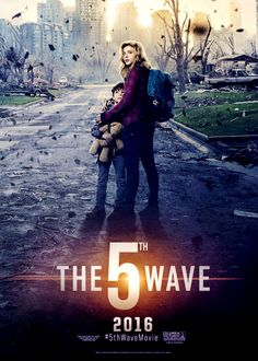 """""""The Wave"""" movie comes out soon! Read the book before it hits the silver screen. The 5th Wave Book, The 5th Wave Movie, The 5th Wave 2016, The Fifth Wave, Books Vs Movies, Netflix Movies, Series Movies, Netflix Time, Books New Releases"""