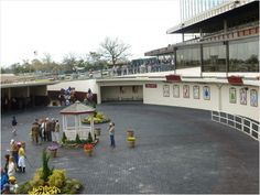 Racetrack at Resort World in Queens New York. Gerald and Janet walk to here.