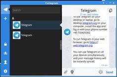Já mostrei como é fácil instalar o cliente oficial do Telegram no Linux via repositório e manualmente. Agora se você quer ter Telegram alternativo no Linux instale o Cutegram.  Instale a última versão do cliente alternativo Cutegram  Telegram no Ubuntu e Fedora: como instalar a versão oficial via repositório  Como instalar o cliente oficial Telegram no Linux manualmente  Como adicionar o suporte a Telegram no Pidgin com Telegram Purple  WhatsApp bloqueado? Use um proxy ou conheça outros…