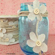Spring Mason Jar Decor in 5 minutes!