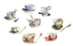 Image detail for -Franz Porcelain Teacups