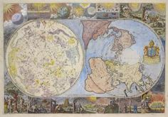 Map of the heavens and the earth. Corrected by Philip Lea, 1699. NYPL, Lionel Pincus and Princess Firyal Map Division. Image ID: 478196