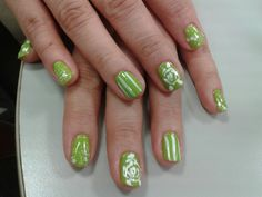 Green#nailswag #nailsart #nails #colors #polish #beauty #nail
