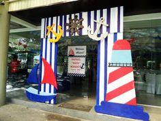 Nautical Themed Entrance Arc